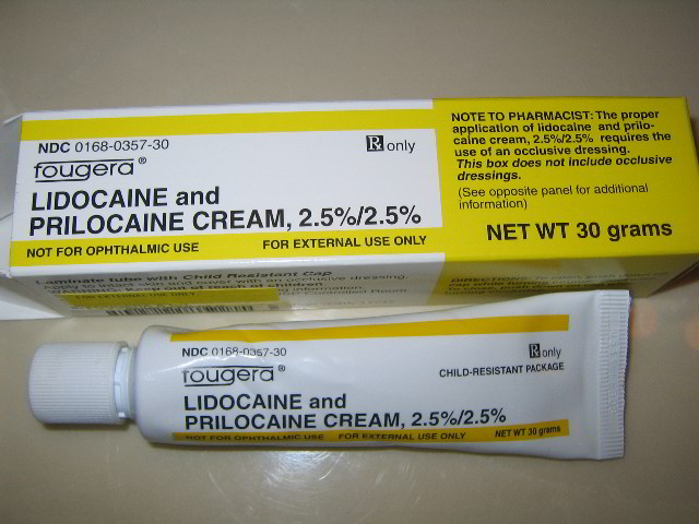 Picture of lidocaine prilocaine numbing cream for laser for Numbing cream for tattoos over the counter
